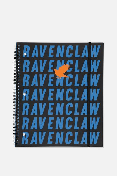 College Ruled Spinout Notebook V, LCN WB HP RAVENCLAW