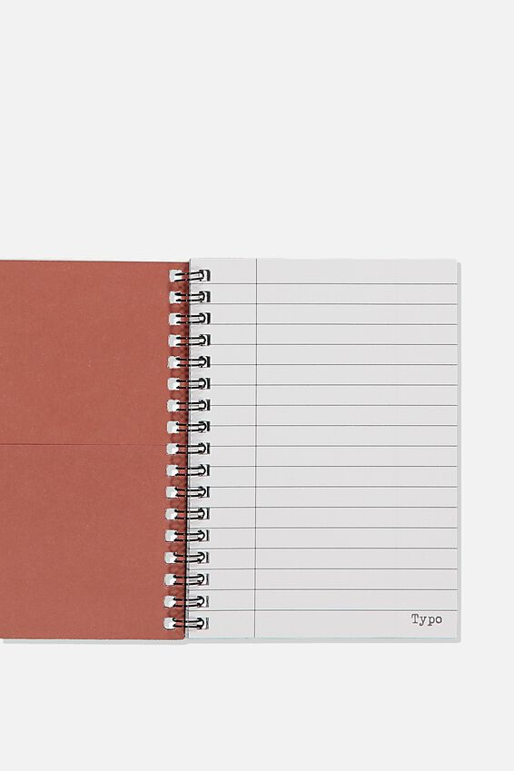 A6 Spinout Notebook, I TRIED