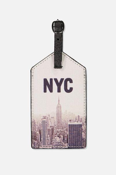 Luggage Tag, NYC VIEWS