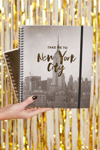 College Ruled Spinout Notebook V, NYC TAKE ME