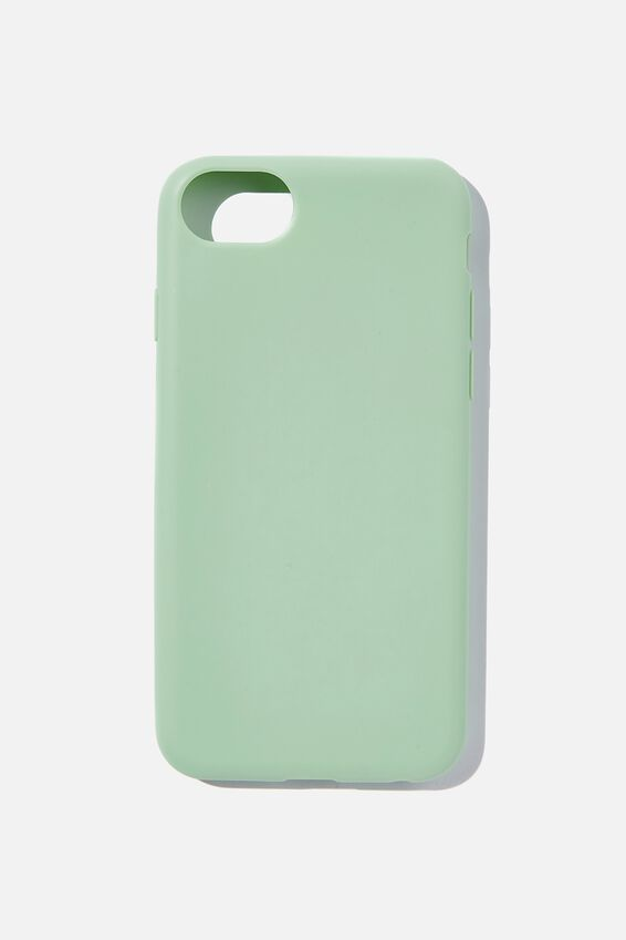 Recycled Phone Case iPhone 6, 7 ,8, SE, MINT LEAF
