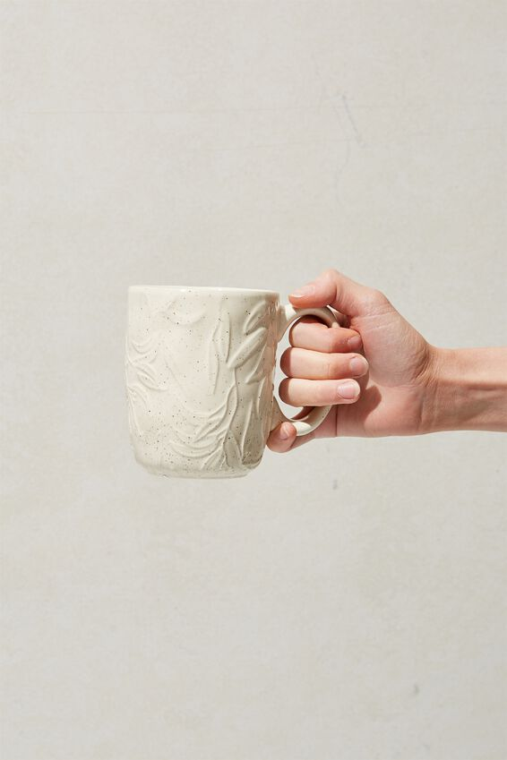 Ceramic Mug, GUMNUT LEAVES
