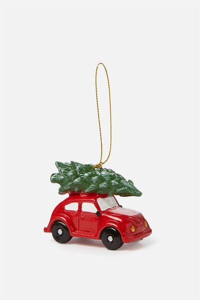 Christmas Ornament, CAR TREE