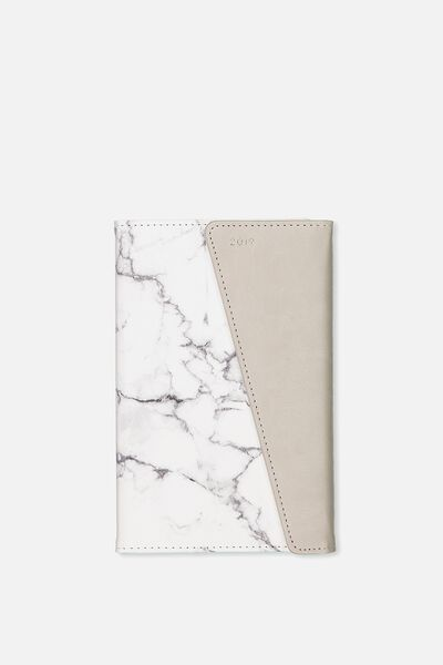 2019 Deluxe Diary, MARBLE