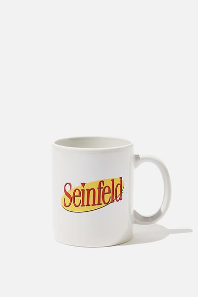 Anytime Mug, LCN WB SEI SEINFELD LOGO