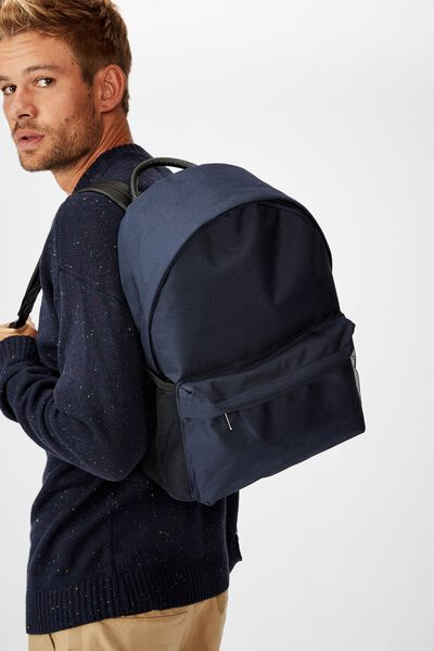 Fundamental Backpack, NAVY