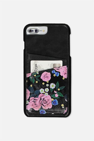 The Cardholder Phone Cover 6,7,8 Plus, POLKA FLORAL