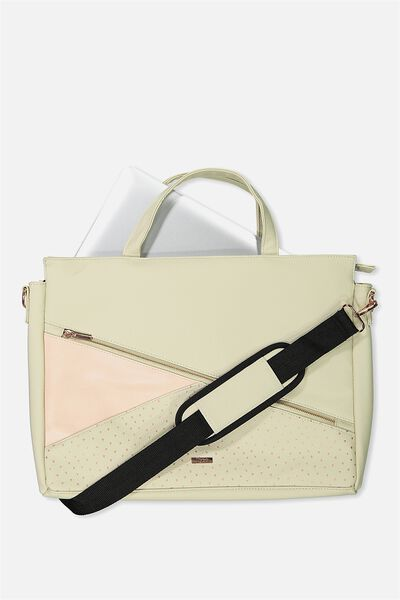 Premium Laptop Bag 15 Inch, NUDE DITSY