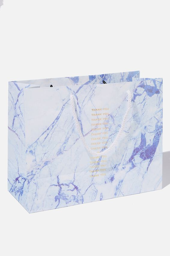 Stuff It Gift Bag - Medium, THANK YOU BLUE MARBLE