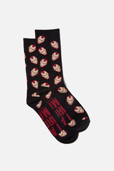 Socks, LCN MAR I AM IRON MAN