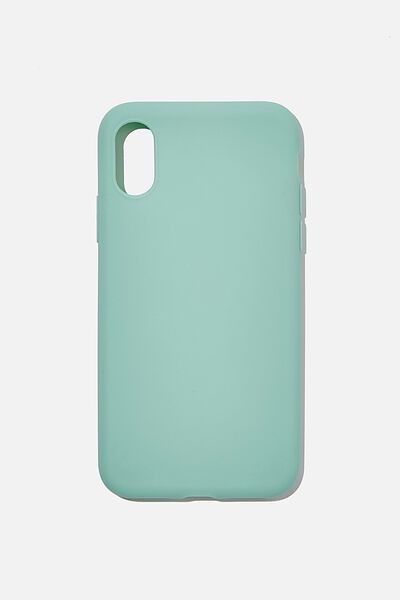 Slimline Recycled Phone Case Iphone X, Xs, SOFT MOSS