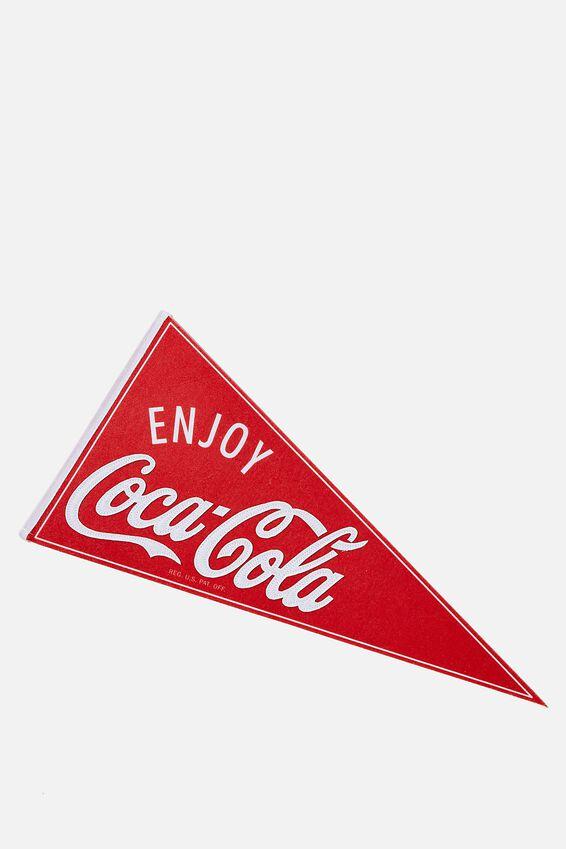 Coca Cola Pennant Wall Flag, LCN COK COCA COLA