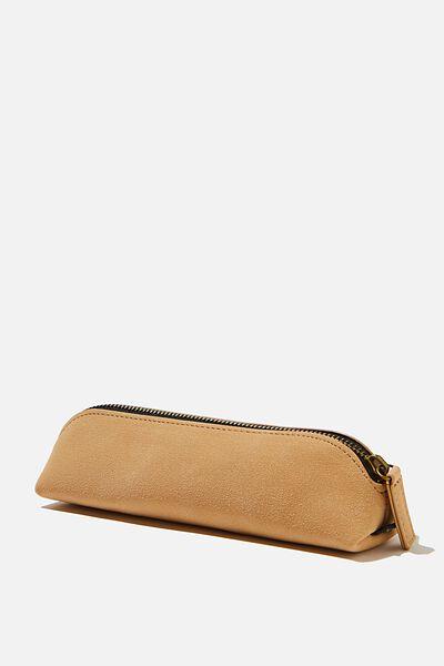 Buffalo Barrel Pencil Case, DRIFTWOOD