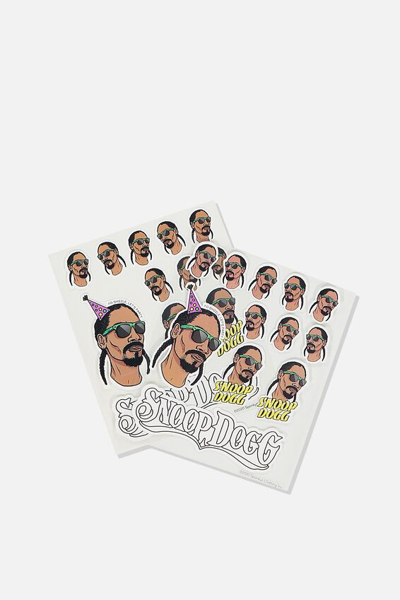 Licensed Sticker Pack, LCN MT SNO SNOOP DOGG