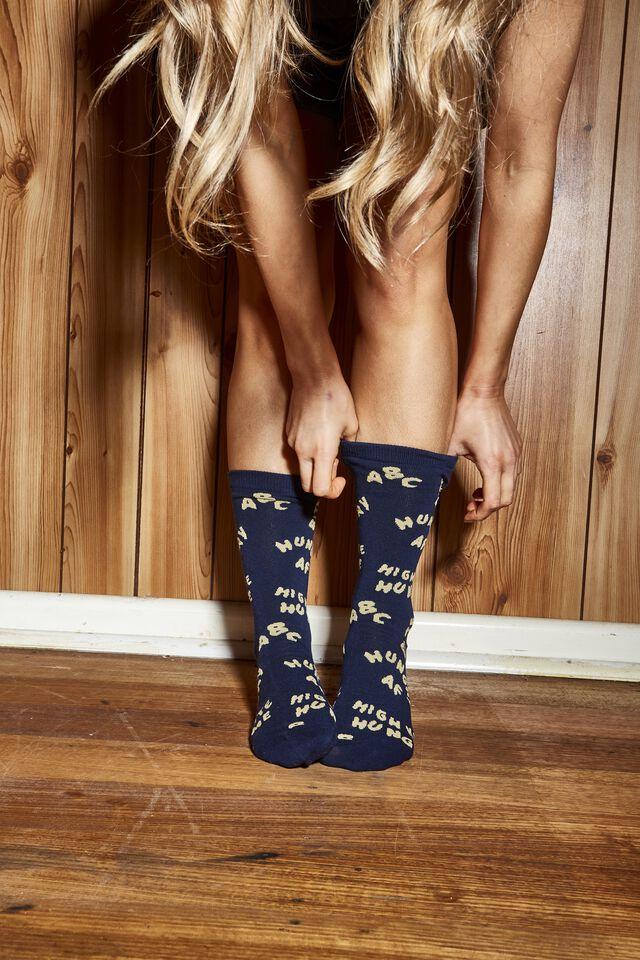 Socks, ALPHA NOODLE
