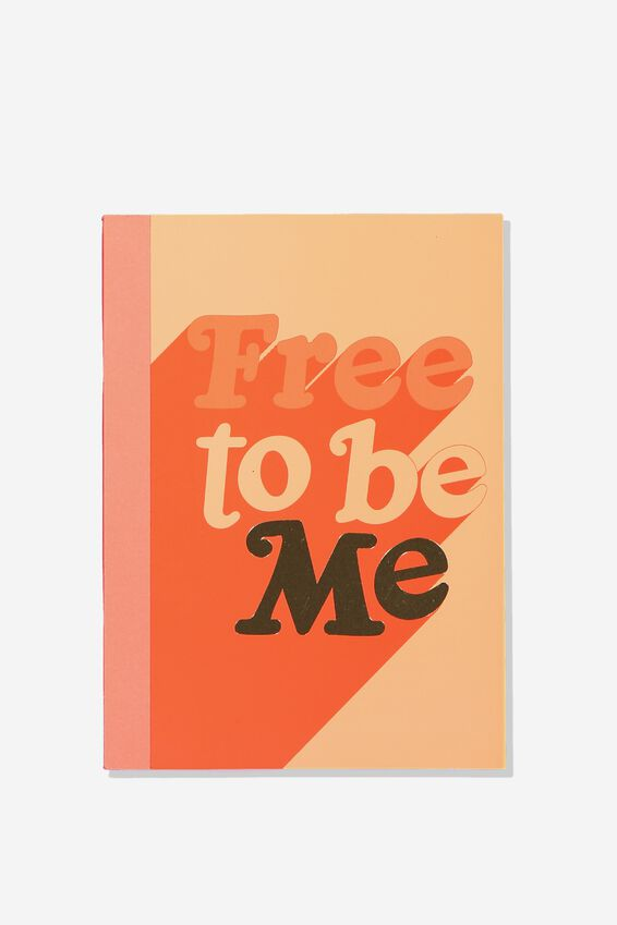 A5 Graduate Journal, FREE TO BE ME