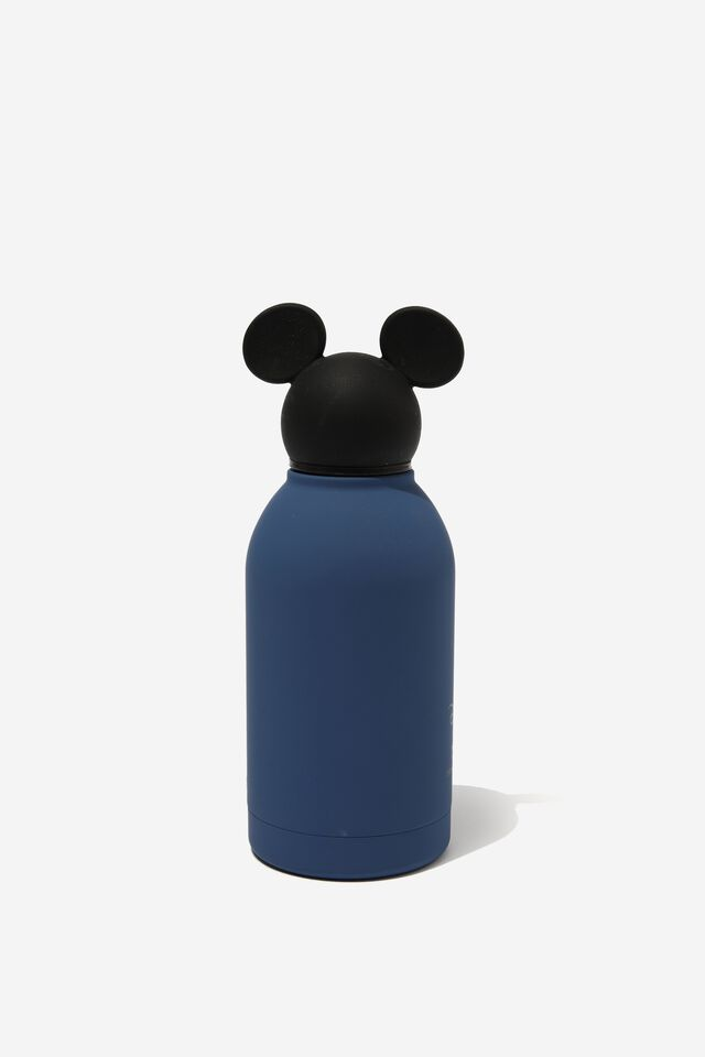 Premium Metal Drink Bottle 350Ml, LCN DIS MICKEY BLUE
