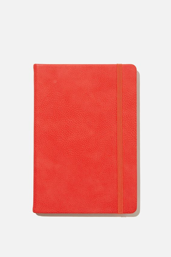 A5 Buffalo Journal, TRUE RED