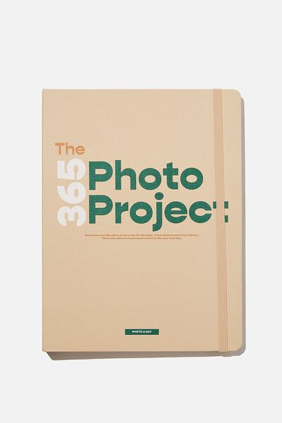 Large Premium Activity Journal, THE 365 PROJECT