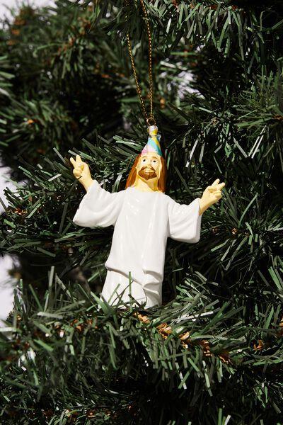 Resin Christmas Ornament, BIRTHDAY GUY!
