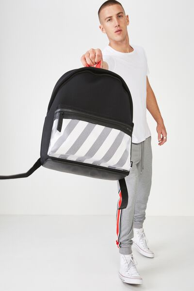 Omw Backpack, BLACK NEOPRENE