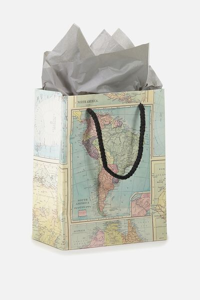 Stuff It Gift Bag Small With Tissue Paper, MAP