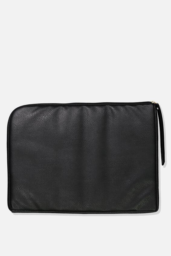 Premium Laptop Case 15 Inch, WHITE MARBLE