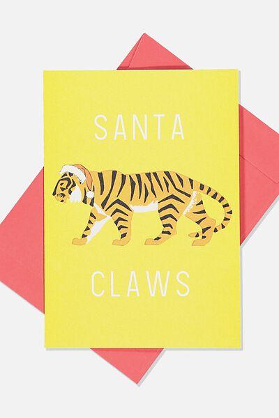 Christmas Card 2019, SANTA CLAWS