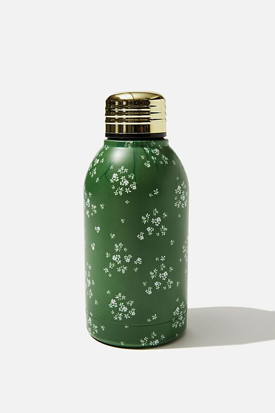 Mini Metal Drink Bottle, BASIL DITSY
