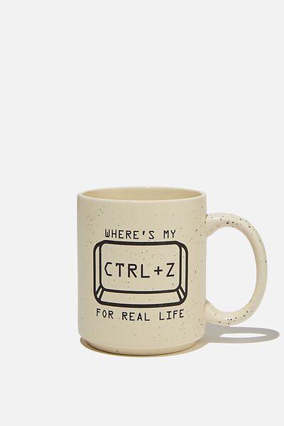 Daily Mug, CTRL Z