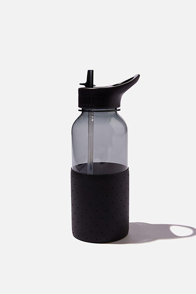Premium Drink It Up Bottle, BLACK POLKA