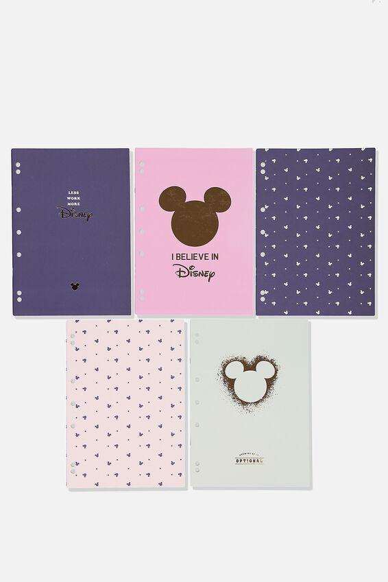 Disney Work It Out Notebook pk 5, LCN DIS TALK TO ME