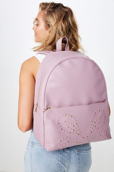 Scholar Backpack, DUSTY PLUM