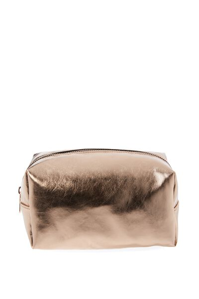 Made Up Cosmetic Bag, ROSE GOLD