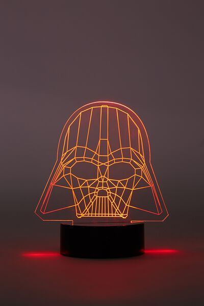 Mini Acrylic Light, LCN DARTH VADER
