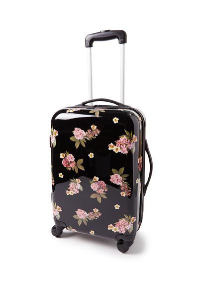 Carry On Suitcase, VINTAGE FLORAL