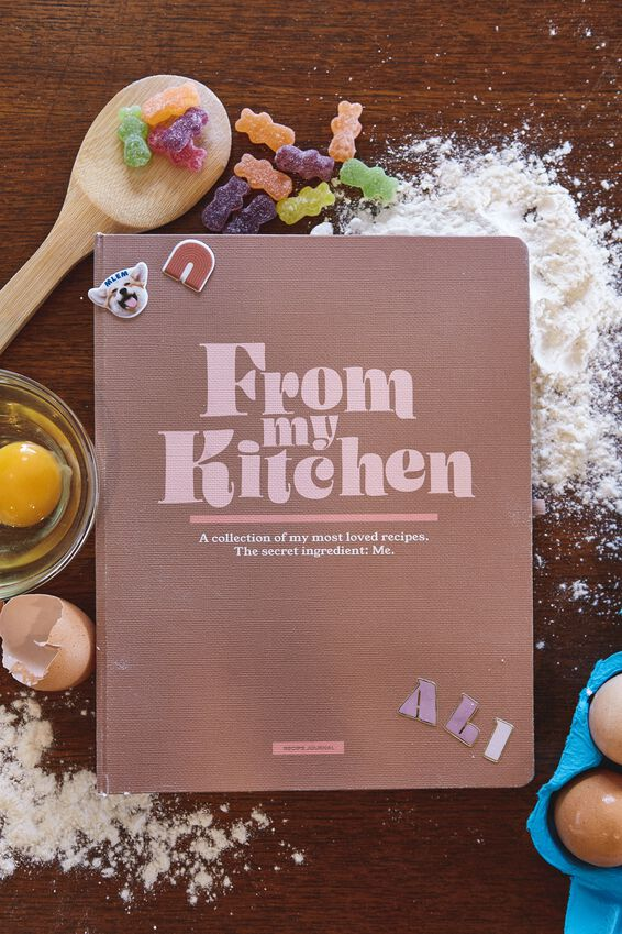 Large Premium Activity Recipe Journal, FROM THE KITCHEN