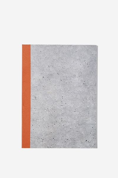 Medium A5 Graduate Journal, CONCRETE