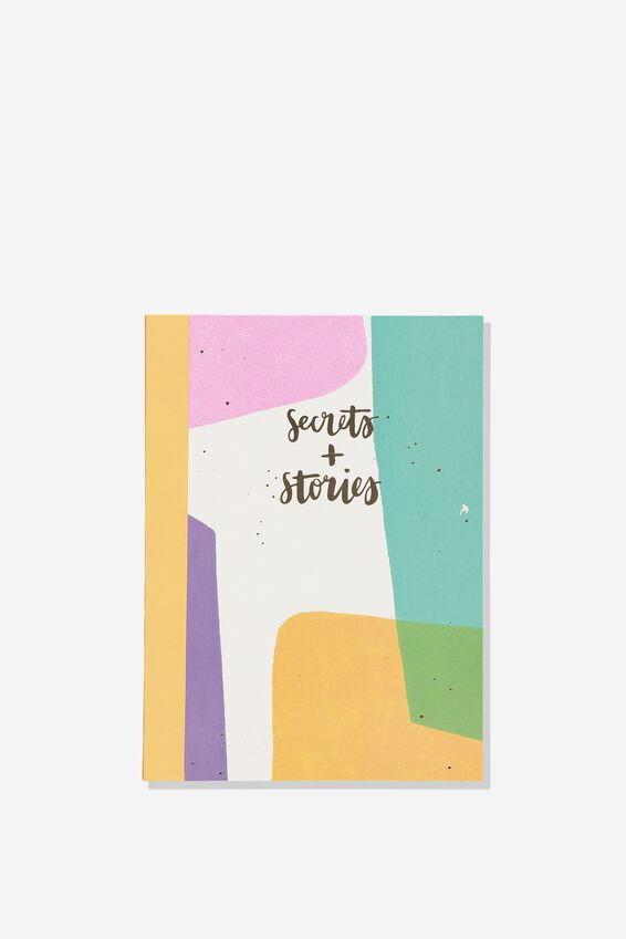 A5 Graduate Journal, SECRETS & STORIES