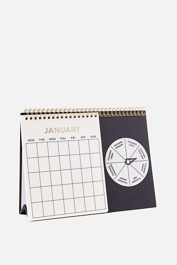 Spin My Wheel Calendar, F!CK!!