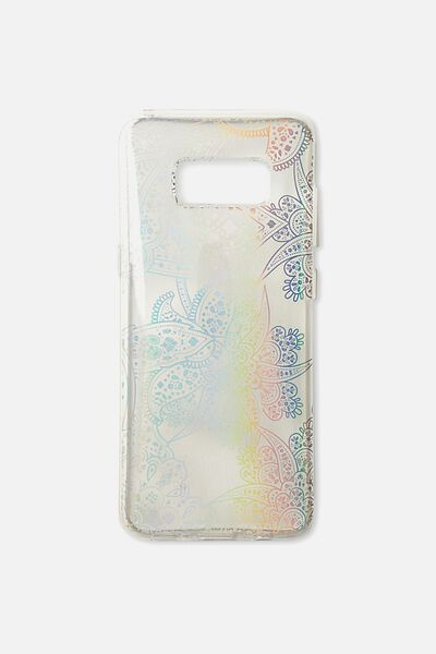 Phone Cover S8, IRRIDESCENT LACE