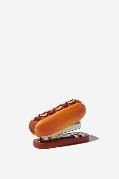 Shaped Mini Stapler, HOTDOG STAPLER