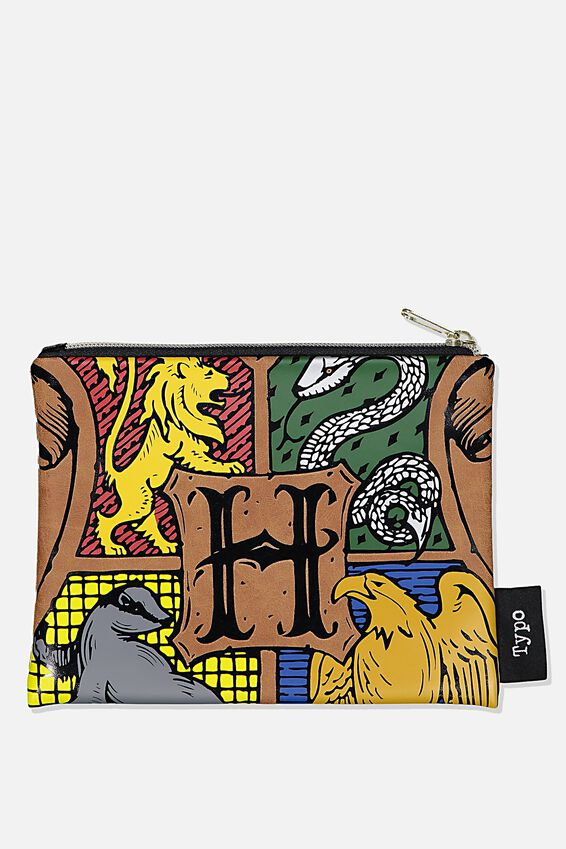 Harry Potter PU Pencil Case, LCN WB HPO HARRY POTTER