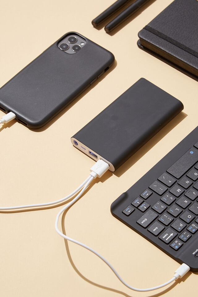 Charge It Power Bank, BLACK