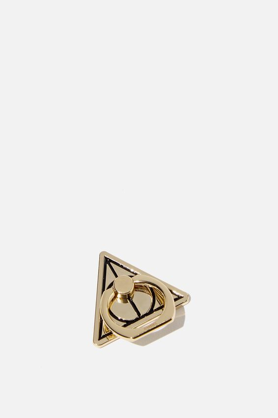 Licenced Metal Phone Ring, LCN WB DEATHLY HALLOWS