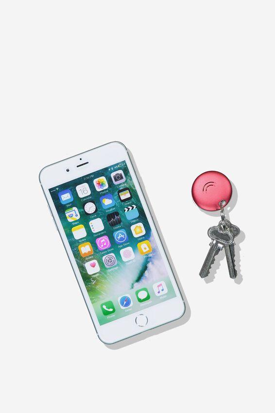 Orbit Keyfinder Bluetooth Tracker, RED