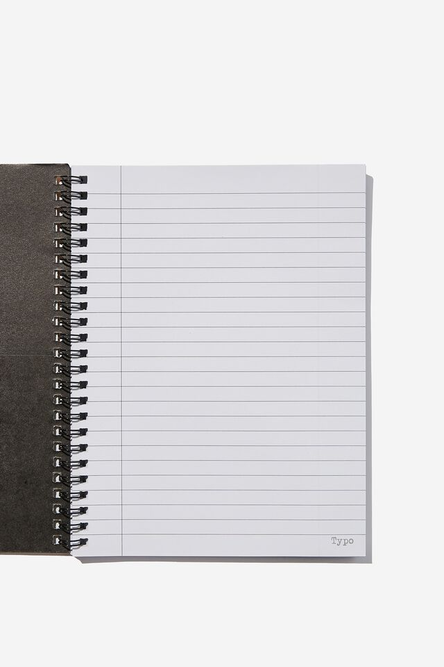 A5 Spinout Notebook Recycled, TAKE A STAND CALL IT OUT MOUTH