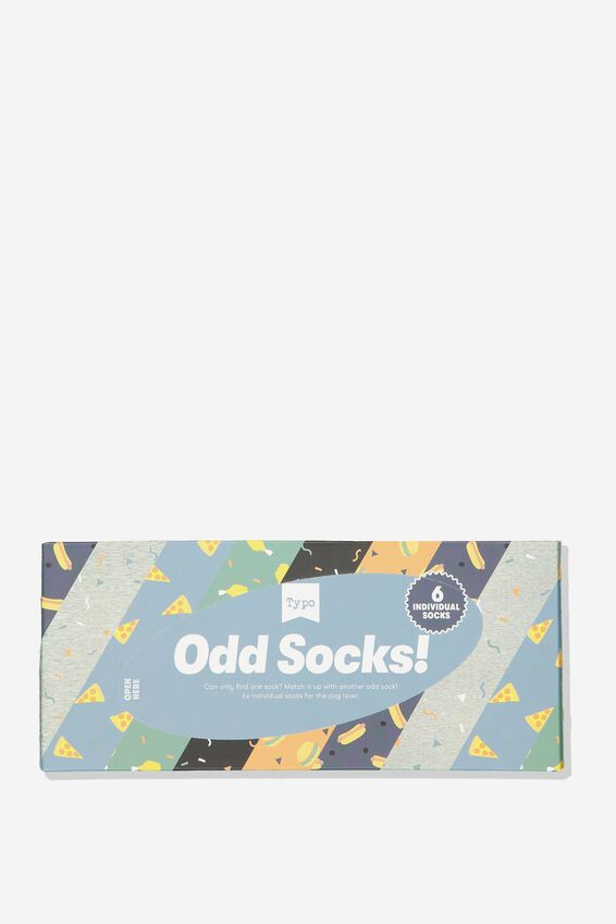 Odd Sock Pack, FUNKY FOOD