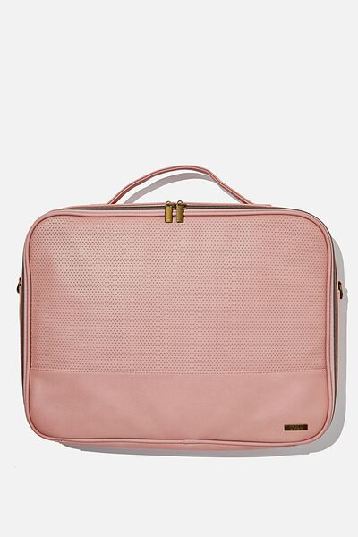 Mobile Laptop Folio 15 Inch, DUSTY ROSE PERF