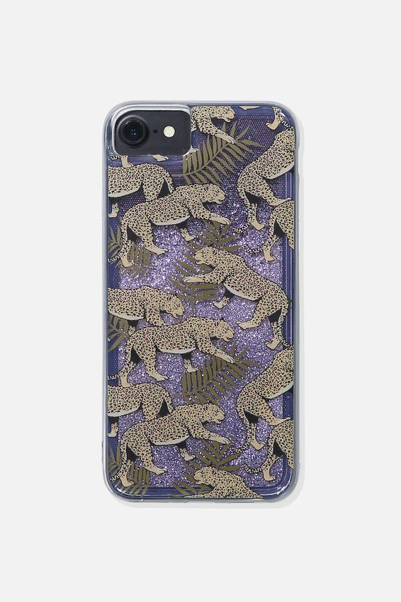 Shake It Phone Case Universal 6,7,8, LEOPARD FERN